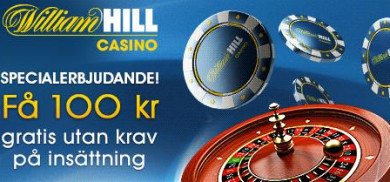 William Hill casinobonus